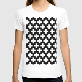 Swiss Cross W&B T-shirt
