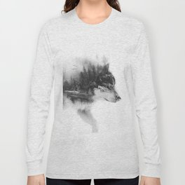 Wolf Stalking Long Sleeve T-shirt