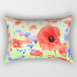 poppies art 004 Rectangular Pillow