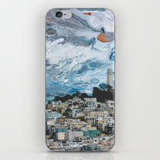Starry Coit Tower iPhone & iPod Skin