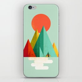 Little Geometric Tipi iPhone Skin