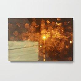 Warm Rain Metal Print