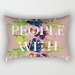 Treat People With Kindness graphic artwork / Harry Styles Rectangular Pillow