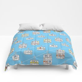 """Pop and Pals: UP, UP, UP! ""  Comforters"