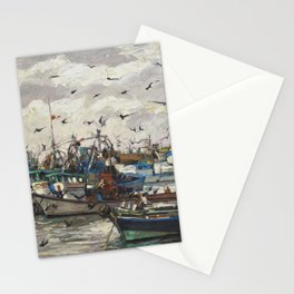 Fishing 6 Stationery Cards