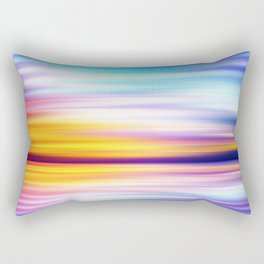 Abstract Sunset X Rectangular Pillow