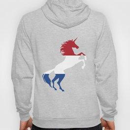 Unicorn Netherlands Flag Magical Unicorn Dutch Hoody