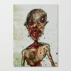 Hungry For Human Flesh Canvas Print