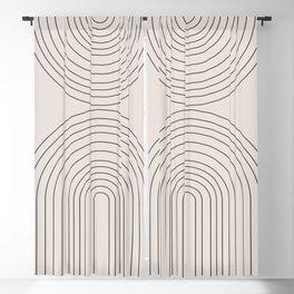Arch Art Blackout Curtain