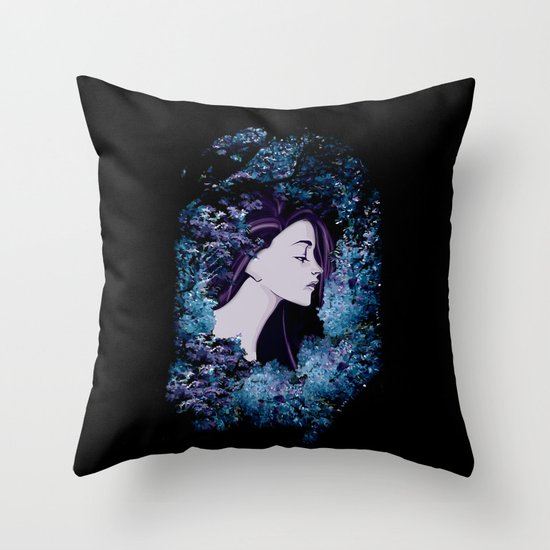 The Colorful Unknown Throw Pillow
