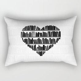 Book Lover II Rectangular Pillow