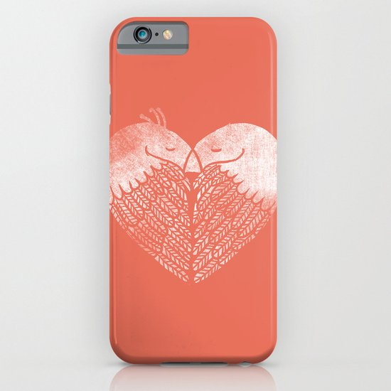 Love birds sitting on a tree iPhone & iPod Case