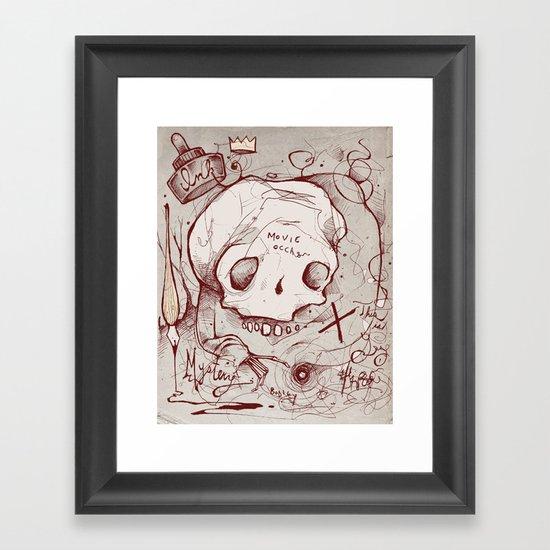 Series Occult Framed Art Print