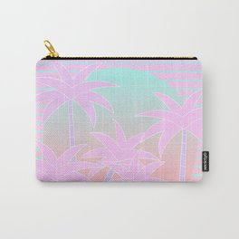 Hello Miami Sunrise Carry-All Pouch