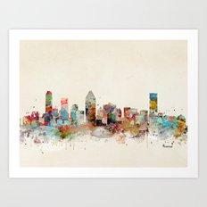 montreal canada Art Print