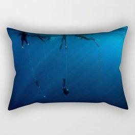 Deep Free Dive Cap Ferrat Rectangular Pillow
