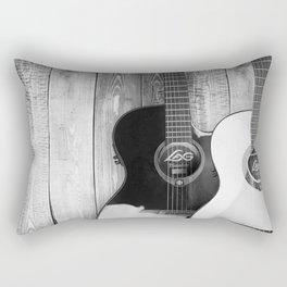 Acoustic Guitars Rectangular Pillow