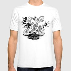Tandem électrique White SMALL Mens Fitted Tee