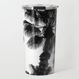 Palm Tree Art Print {3 of 3} | B&W Topical Beach Plant Nature Vacation Sun Vibes Artwork Travel Mug