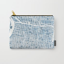Philadelphia City Map Carry-All Pouch