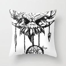 nightmare attractor Throw Pillow