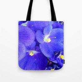 blue violet Tote Bag