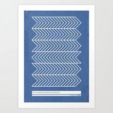 Nonsense 1 Art Print