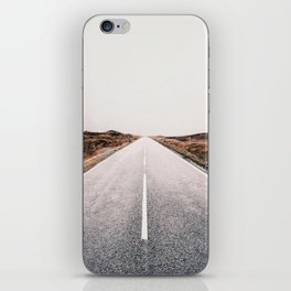 ROAD - HIGH WAY - LANDSCAPE - PHOTOGRAPHY - NATURE - ADVENTURE - SKY iPhone Skin