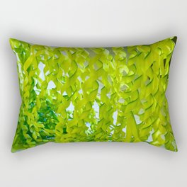 Palm Leaves Art Rectangular Pillow