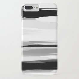 Soft Determination Black & White iPhone Case