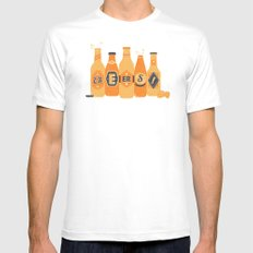 Cheers! White Mens Fitted Tee MEDIUM