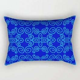 Indigo Batik Rectangular Pillow