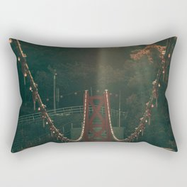 Taiwan bridge Rectangular Pillow