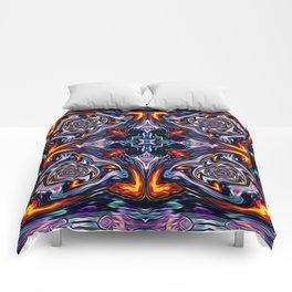 Fire Grid Comforters