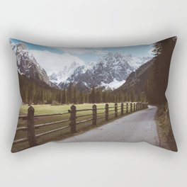 Let's hike together - Landscape and Nature Photography Rectangular Pillow