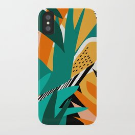 Jungle Abstract iPhone Case
