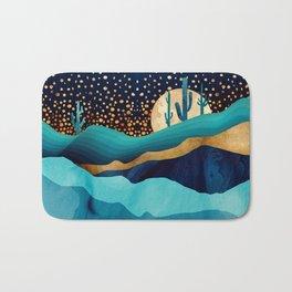 Indigo Desert Night Bath Mat