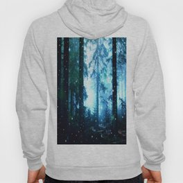 Fireflies Night Forest Hoody