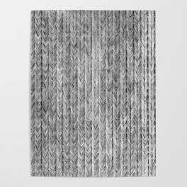 Ink Weaves: Grey Opal Poster