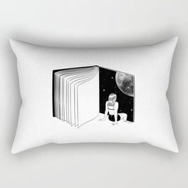 Reading is Dreaming with Your Eyes Open Rectangular Pillow