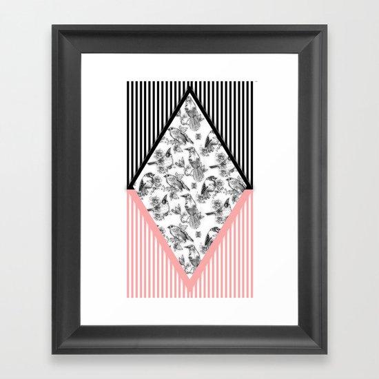 Bird Cage Framed Art Print