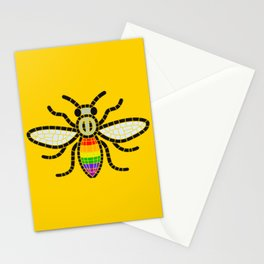 LGBT BEE MANCHESTER PRIDE GAY VILLAGE CANAL STREET Stationery Cards