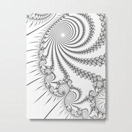Break-up Metal Print