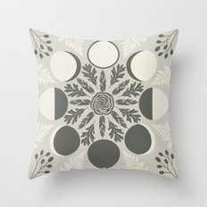 Luna Poetica Throw Pillow