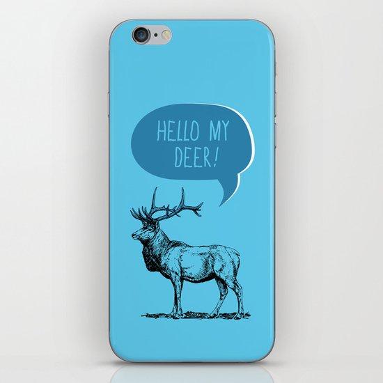 Deer Pun iPhone & iPod Skin