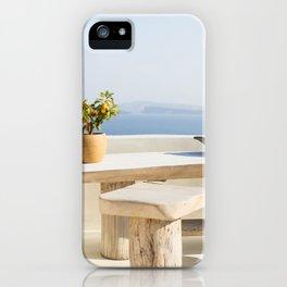 Santorini, Greece #society6 #decor #buyart iPhone Case