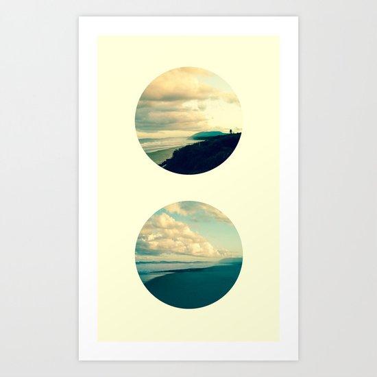 Days gone by Art Print
