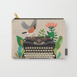 The bird and the typewriter Carry-All Pouch