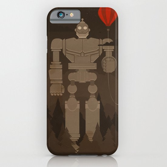 The Robot and The Balloon iPhone & iPod Case