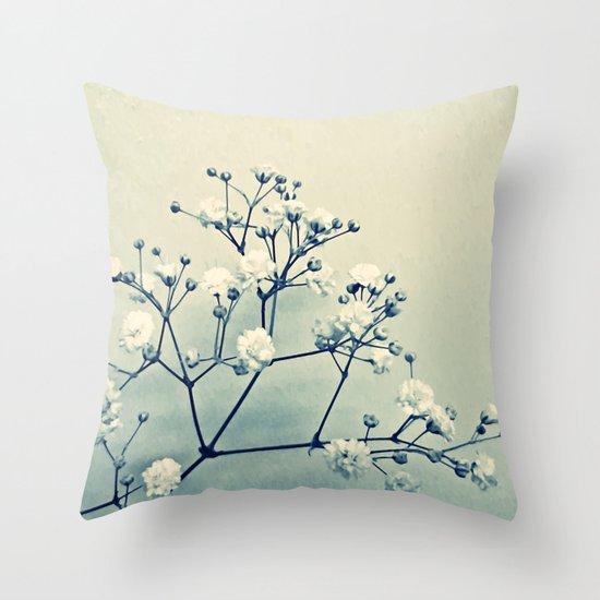 Gypsy Blue Throw Pillow